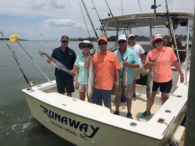 Hilton Head SC Fishing Charter - Runaway