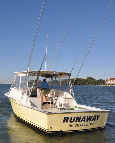 Hilton Head SC Fishing Charter Boat - The Runaway